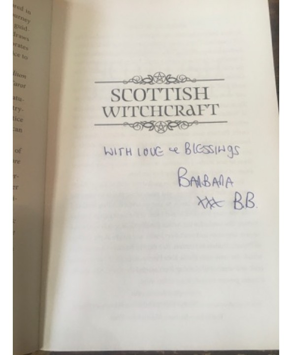 Scottish Witchcraft Book - SIGNED COPY!