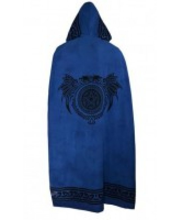 Blue Cotton Cloak