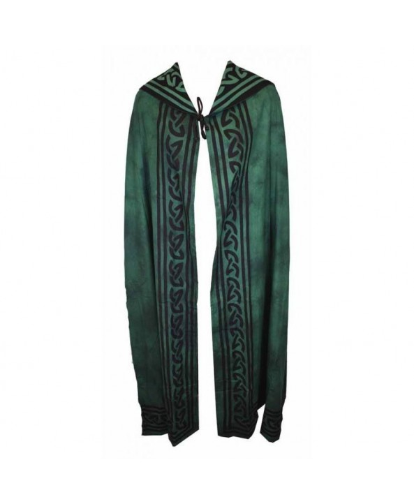 Green Cotton Cloak