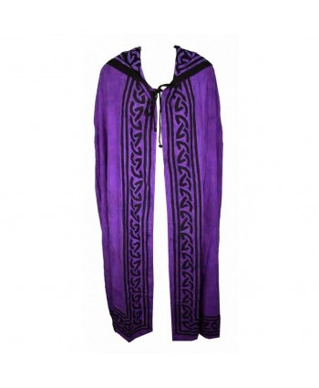 Purple Cotton Cloak
