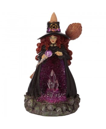 Crystal Cave Witch Backflow Burner