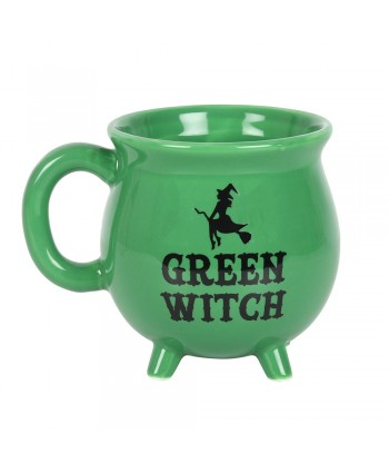 Green Witch Cauldron Mug