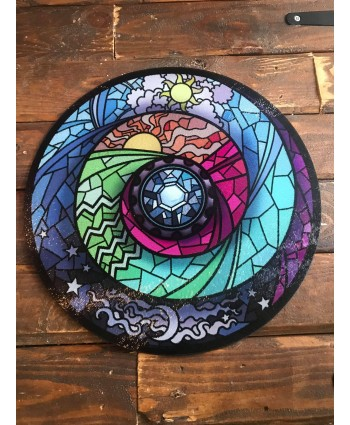 Stained Glass Chopping Board