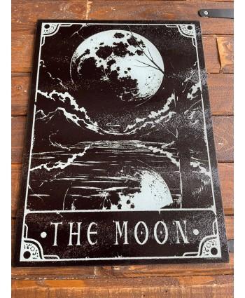 The Moon Glass Chopping Board