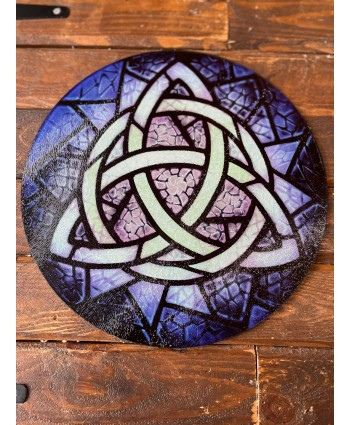 Triquetra Glass Chopping Board
