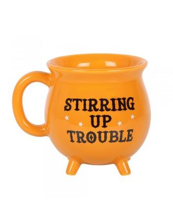 Stirring up Trouble Cauldron Mug