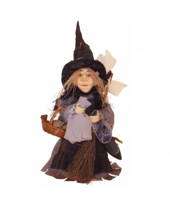 Amelia- Grey Pendle Witch