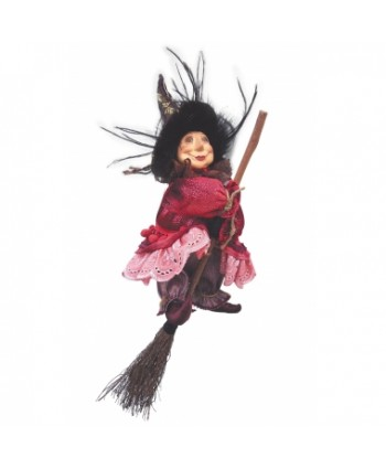 Anne Redfearn - Burgundy Pendle Witch