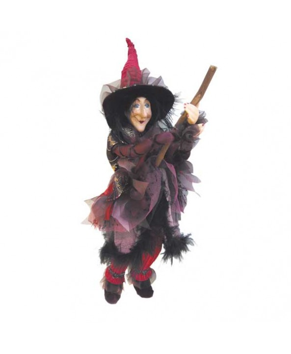 Chattox - Burgundy Pendle Witch