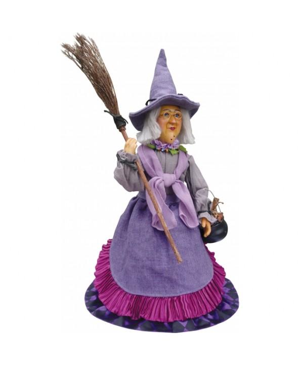 Maud - Purple Pendle Witch