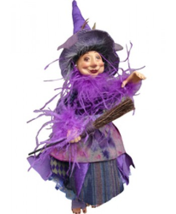 Alizon Device - Purple Pendle Witch
