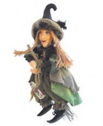 Alice Nutter - Green Pendle Witch