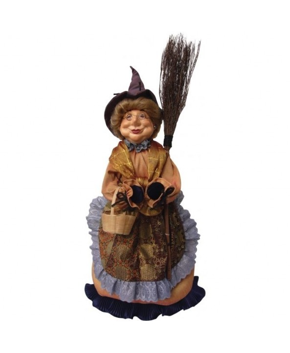 Gertrude - Brown Pendle Witch