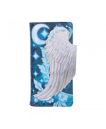 Angel Wing Embossed Purse