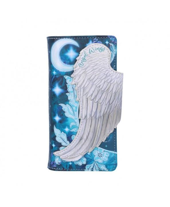 Angel Wing Embossed Purse