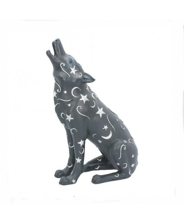 Luna Wolf Statue