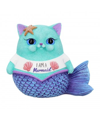 Mermaid Cat Statue