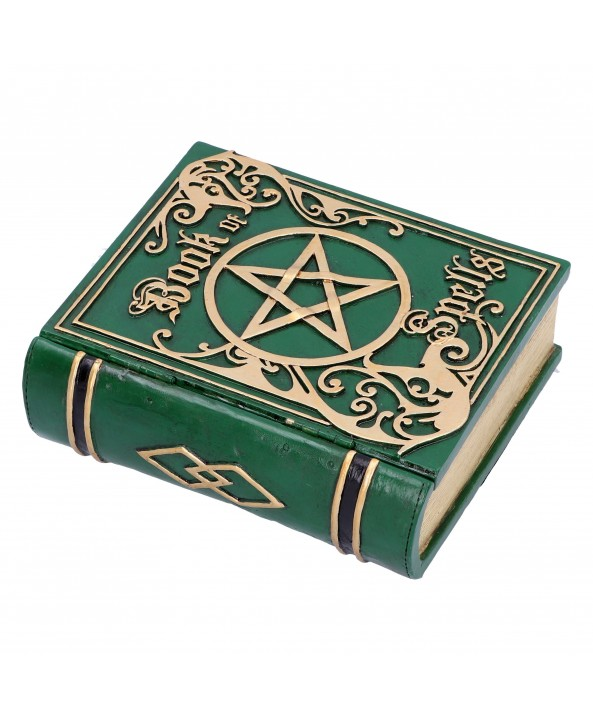 Green Spell Book Box