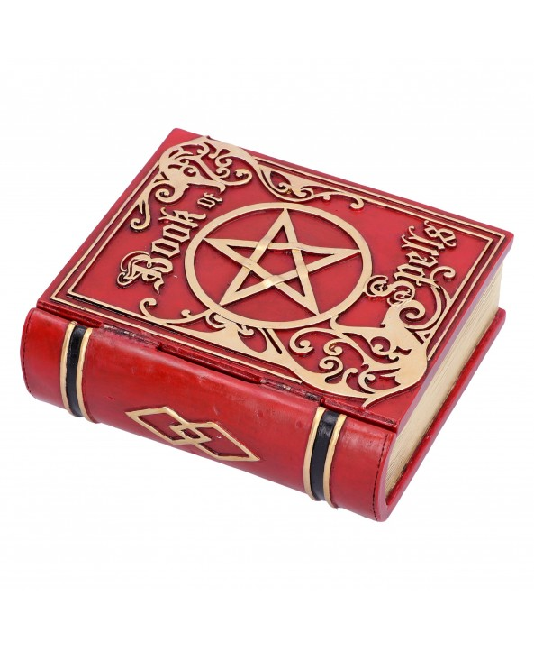 Red Spell Book Box