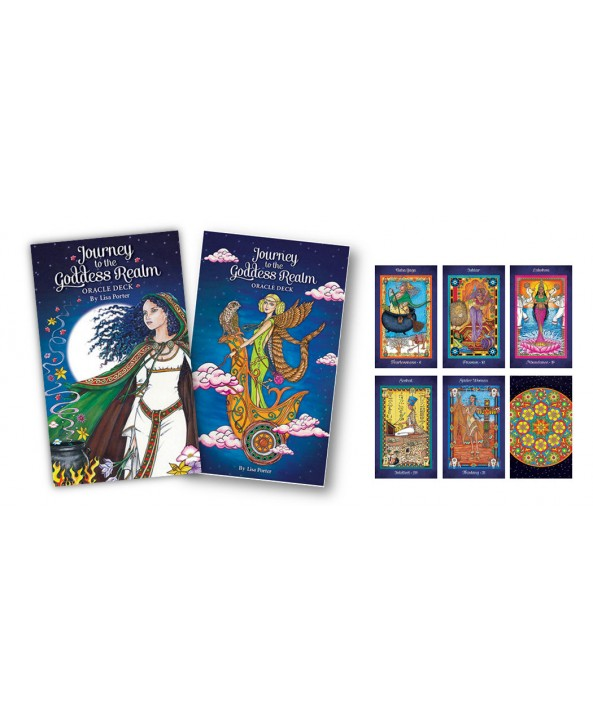 Journey to the Goddess Realm Oracle Cards