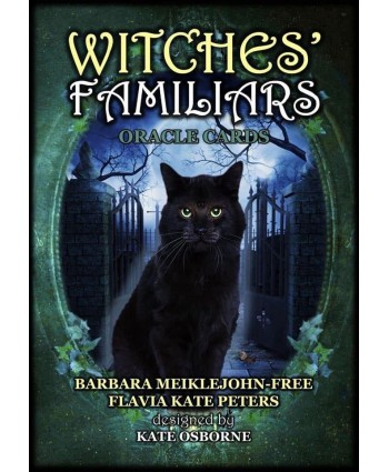 Witches Familiars Oracle Card - SIGNED COPY!