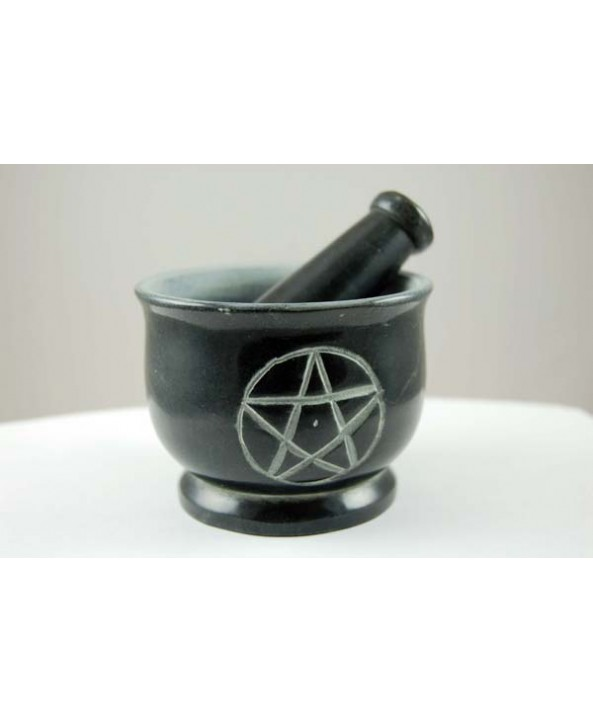 Pentagram Pestle and Mortar