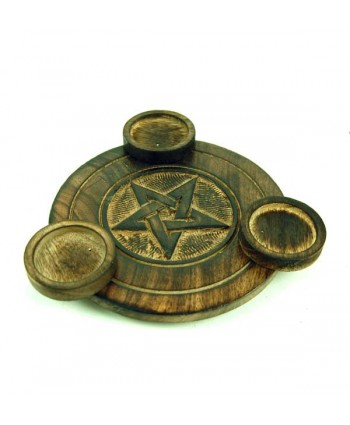 Pentagram T-Light Holder