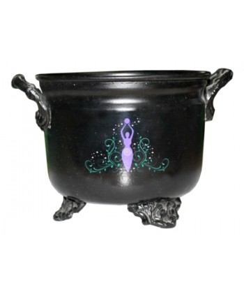 Goddess Metal Cauldron