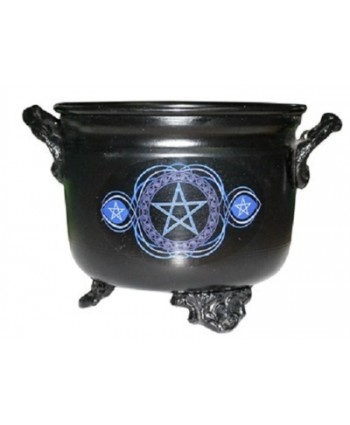 Pentacle Metal Cauldron