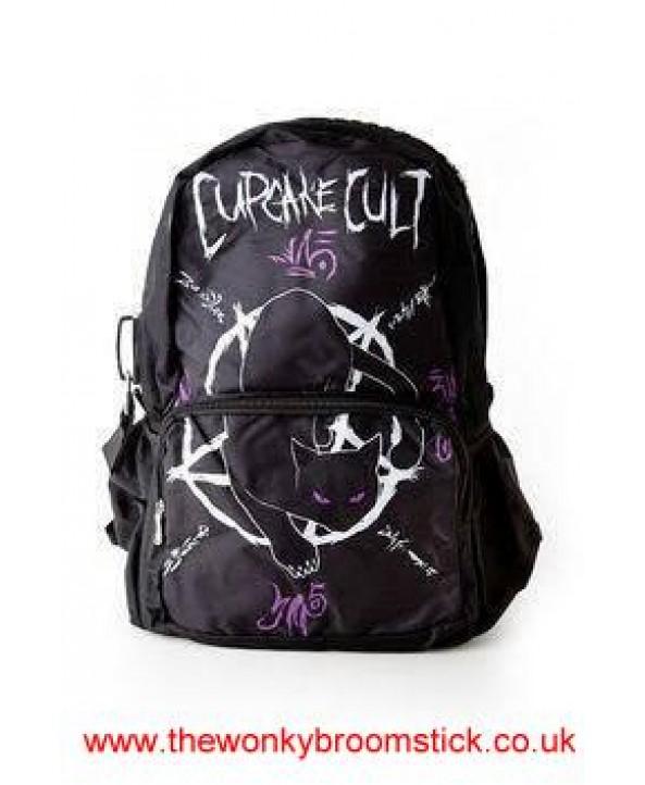Occult Black Cat Backpack