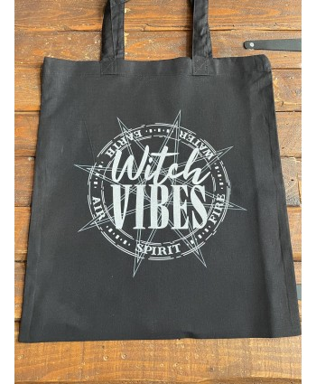 Witch Vibes Elemental Tote Bag
