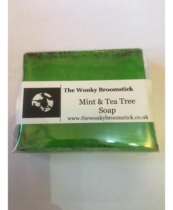 Mint and Tea Tree Soap