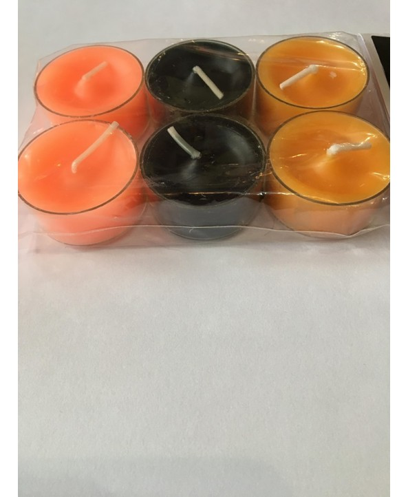 The Wonky Broomstick Tealight pack