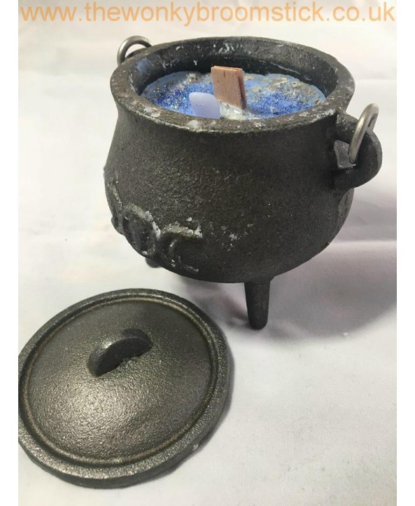 Moon Cauldron Candle