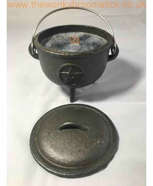 Banish Negativity Cauldron Candle