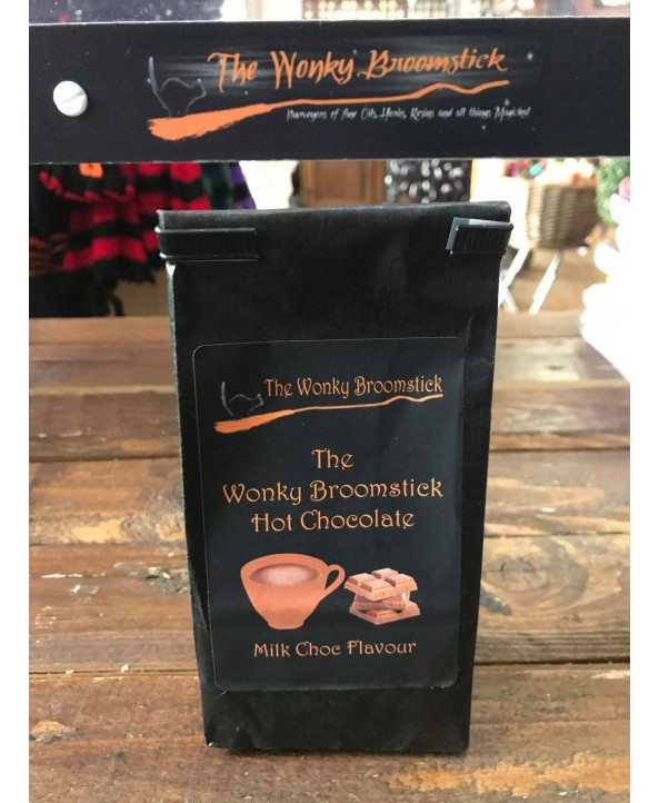 Wonky Broomstick Milk Hot Chocolate