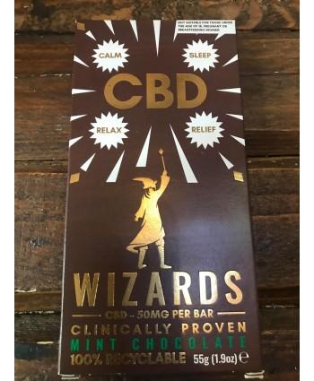 Wizards CBD Chocolate Bar- Mint