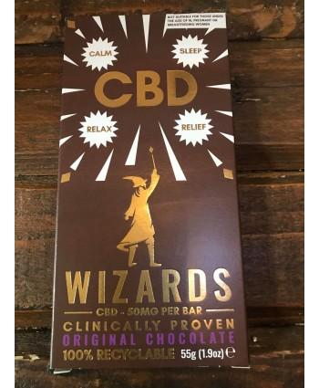 Wizards CBD Chocolate Bar- Original