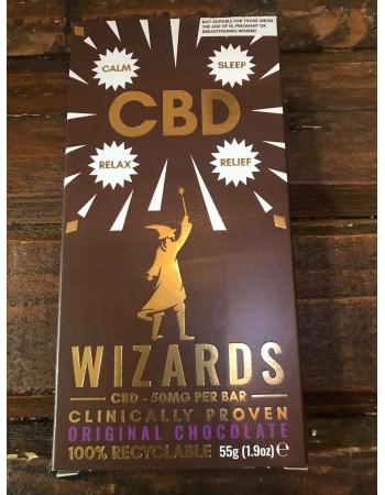 The Wizards CBD Chocolate Bar- Original