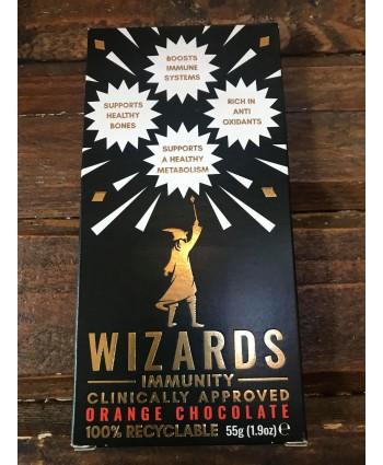 Wizards Immunity Chocolate Bar- Orange