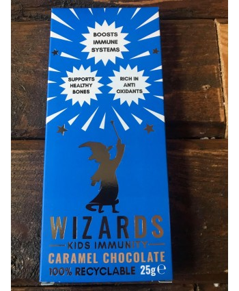 Wizards Kids Chocolate Bar - Immunity Caramel