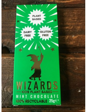 Wizards Kids Chocolate Bar - Plant Based - Mint