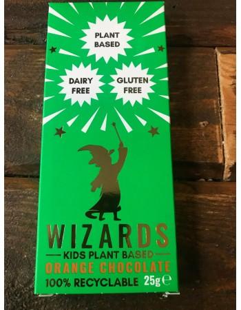Wizards Kids Chocolate Bar - Plant Based - Orange