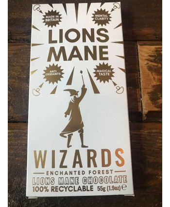 Wizards Enchanted Forest Chocolate Bar - Lions Mane