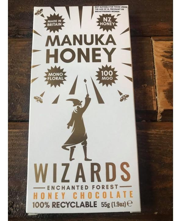 Wizards Enchanted Forest Chocolate Bar - Manuka Honey