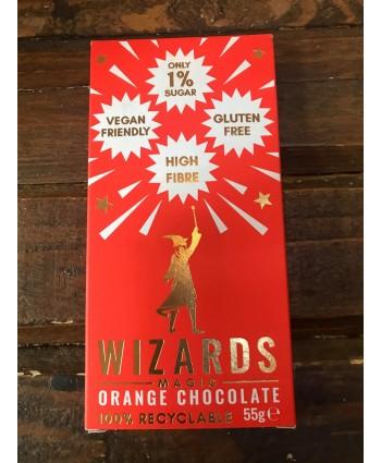 Wizards Magic Chocolate Bar- Orange