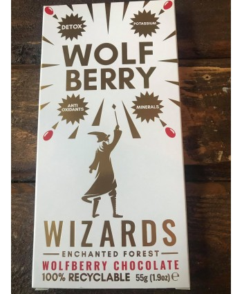 Wizards Enchanted Forest Chocolate Bar - Wolf Berry
