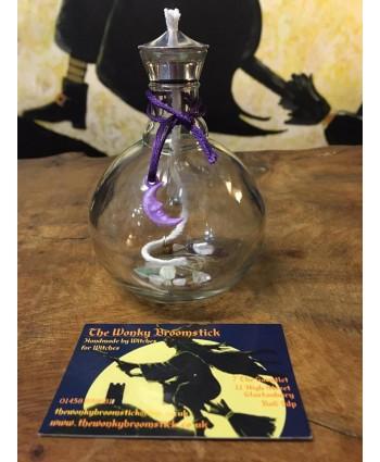 Purple Alpha Spell Lamp