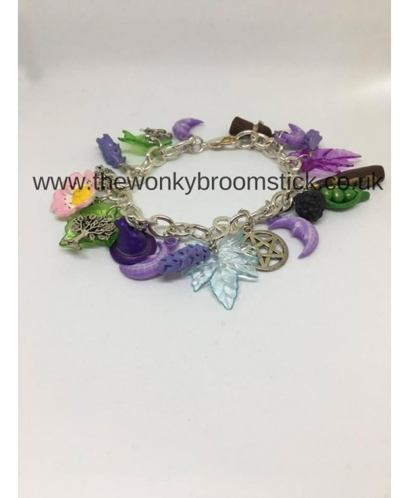 Lavender Witch Bracelet
