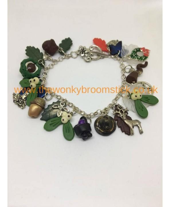 Sterling Silver Winter Bracelet